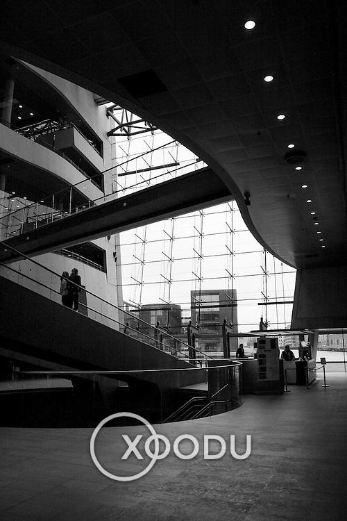 National Library foyer, Copenhagen, Denmark (December 2004)