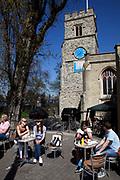 St Mary's Church, Putney High Street, London.