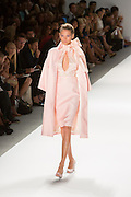 Pink dress and cape. By Zang Toi, shown at his Spring 20132 Fashion Week show in New York.