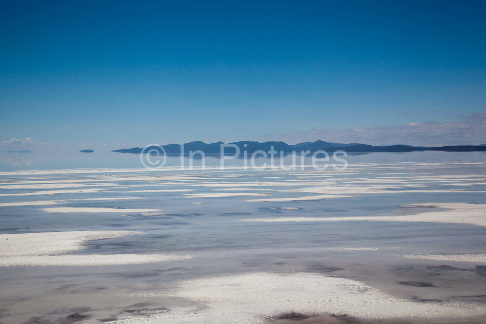 The largest salt flats in the World - Salar Uyuni salt flats and Eduardo Avaroa national park, south western Bolivia