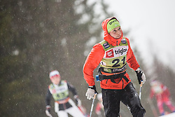 Alenka Cebasek (SLO) during the Ladies sprint free race at FIS Cross Country World Cup Planica 2019, on December 21, 2019 at Planica, Slovenia. Photo By Peter Podobnik / Sportida