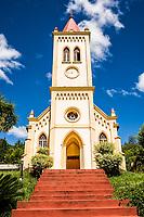 Igreja Luterana no Distrito de Lagu. Mondaí, Santa Catarina, Brasil. / <br /> Lutheran Church at Lagu District. Mondaí, Santa Catarina, Brazil.