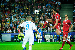 Trent Alexander-Arnold of Liverpool during the UEFA Champions League final football match between Liverpool and Real Madrid at the Olympic Stadium in Kiev, Ukraine on May 26, 2018.Photo by Sandi Fiser / Sportida