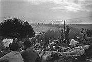 Rock Festival fans at sunrise after a heavy rain at the Woodstock rock festival at Max Yasgur's 600 acre farm, in the rural town of Bethel, NY, on the weekend of August 16-18, 1969.