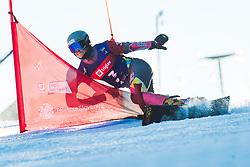 Cheyenne Loch (GER) during parallel slalom FIS Snowboard Alpine World Championships 2021 on March 2nd 2021 on Rogla, Slovenia. Photo by Grega Valancic / Sportida