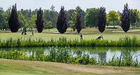TILBURG -  Hole 7 Blaak.. PRISE D'EAU GOLF, golfbaan.  COPYRIGHT KOEN SUYK