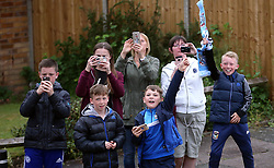 Coventry City fans during the Sky Bet League Two promotion parade in Coventry. PRESS ASSOCIATION Photo. Picture date Wednesday May 30, 2018. See PA story SOCCER Coventry. Photo credit should read: Nigel French/PA Wire