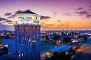 The Historic Santa Ana Water Tower