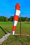 Windsock at Peachstate Aerodrome in Williamson, Georgia.