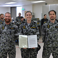 Promotion - Casey Neindorf - Petty Officer