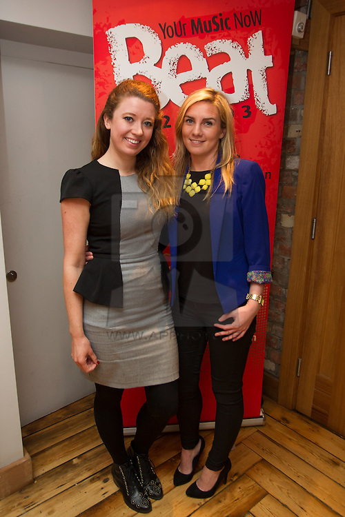 Repro Free: Ellen Ryan and Carol St John pictured at Beat 102-103 agency event in Dublin to mark 102 day countdown to milestone 10th birthday in July. Invited guests were treated to a nostalgic trip down memory lane to highlight the success of the radio station over the past decade and they also gained an insight into how Beat 102-103 has achieved a significant rise in listenership figures during that time. Picture Andres Poveda