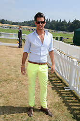 OLLIE LOCKE at the Veuve Clicquot Gold Cup, Cowdray Park, Midhurst, West Sussex on 21st July 2013.