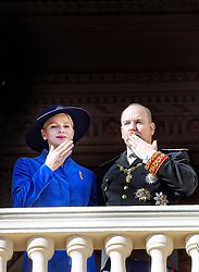 November 19, 2017 - Monte Carlo, MONACO - 19-11-2017 Monaco Princess Charlene of Monaco and Prince Albert during the Monaco National Day Celebrations in Monaco...© PPE/NieboerCredit: PPE/face to face.- No rights for the Netherlands  (Credit Image: © face to face via ZUMA Press)