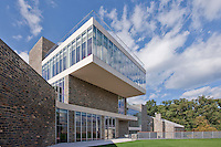 Architectural Exterior image of St. Albans School in Washington DC by photographer Jeffrey Sauers of Commercial Photographics