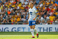 Tranmere Rovers midfielder Kieron Morris (19) during the EFL Sky Bet League 2 Play Off Final match between Newport County and Tranmere Rovers at Wembley Stadium, London, England on 25 May 2019.