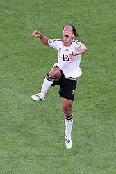 05-07-2011 VOETBAL: FIFA WOMENS WORLDCUP 2011 FRANCE - GERMANY: MONCHENGLADBACH<br /> Jubel  Celia Okoyino a Mbabi (GER13 #14, Bad Neuenahr) nach dem 2:4 <br /> ***NETHERLANDS ONLY***<br /> ©2011-FRH- NPH/Mueller