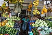 Fruit & vegetable vendor<br /> Georgetown<br /> GUYANA<br /> South America