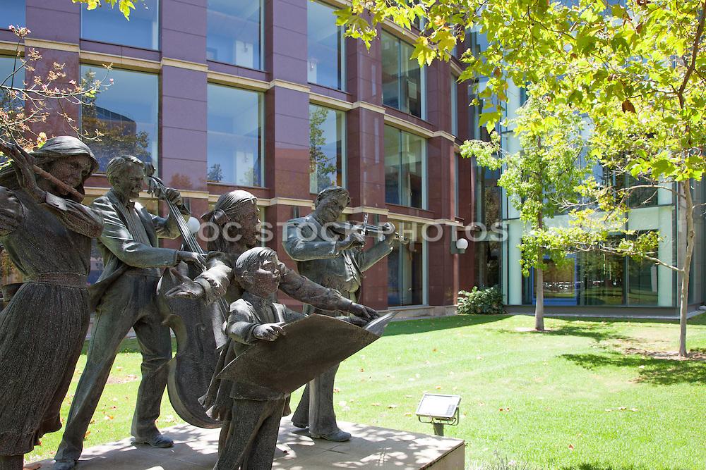 Joy of Music Sculptures at the Cerritos Performing Arts Center