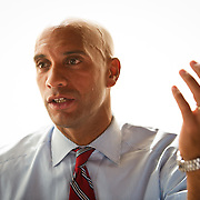 Mayoral incumbent Adrian Fenty sits down for an interview with the staff of DCist.com ahead of D.C.'s Democratic Primary.