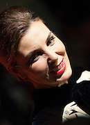 Ines Sastre during the photocall of Vanity Fair 5th Anniversary party In Madrid