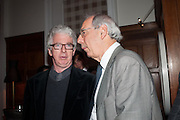 PETER STOTHARD; TOM BOWER, Rocco Forte's Brown's Hotel Hosts 175th Anniversary Party, Browns Hotel. Albermarle St. London. 16 May 2013