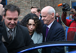 © Licensed to London News Pictures. 06/01/2016. Croydon, UK. Former Chelsea team doctor Eva Carneiro leaves Croydon Employment Tribunal. Carneiro is claiming constructive dismissal against Chelsea football club. Photo credit: Peter Macdiarmid/LNP