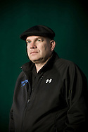 Creator of 'The Wire' television series, American writer David Simon, pictured at the Edinburgh International Book Festival where he talked about his work. The three-week event is the world's biggest literary festival and is held during the annual Edinburgh Festival. The 2009 event featured talks and presentations by more than 500 authors from around the world.