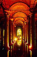 Yerebatan Sarnici (Sunken Cistern), Istanbul, Turkey