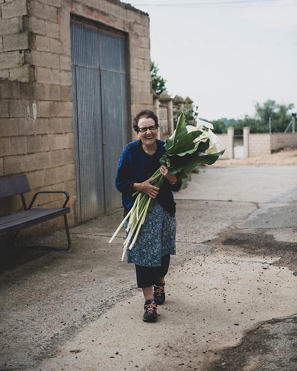 Aurelio, a fun-loving local met while passing through the village of Santibáñez de Valdeiglesias, Spain. (June 29, 2018)<br /> <br /> DAY 33: HOSPITAL DE ORBIGO TO ASTORGA -- 17 KM
