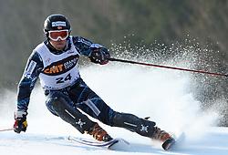 Lars Elton Myhre  at first run of 9th men's slalom race of Audi FIS Ski World Cup, Pokal Vitranc,  in Podkoren, Kranjska Gora, Slovenia, on March 1, 2009. (Photo by Vid Ponikvar / Sportida)