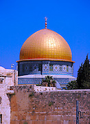 Dome of the rock, Jerusalem, Israel.