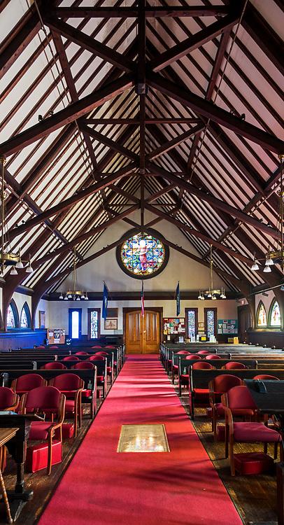 Window 33 on plan.<br /> <br /> Saint Saviour's Episcopal Church, Bar Harbor, Maine.