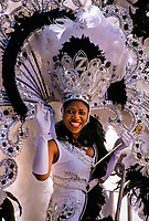 Queen of the Zulu Parade, Mardi Gras, St. Charles Avenue, New Orleans, Louisiana USA