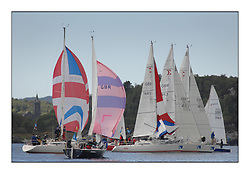 The Brewin Dolphin Scottish Series, Tarbert Loch Fyne..SIGMA 33'S and .GBR8243N Peshwa 4 Helensburgh SC Timothy Tindal.
