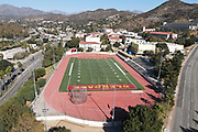 A general view of Sartoris Field and track at Glendale Community College, Friday, Nov. 27, 2020, in Glendale, Calif.