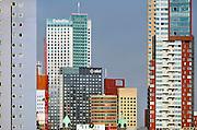 Nederland, Rotterdam, 2-10-2011Nieuwe architectuur in Rotterdam.Stadsgezicht, wolkenkrabber.Foto: Flip Franssen/Hollandse Hoogte