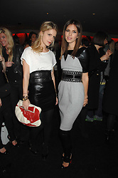 Left to right, EUGENIE NIARCHOS and DASHA ZHUKOVA close friend of Roman Abramovich at a party to celebrate the launch of the Kova & T fashion label and to re-launch the Harvey Nichols Fifth Floor Bar, held at harvey Nichols, Knightsbridge, London on 22nd November 2007.<br />