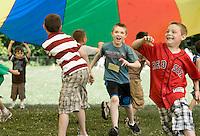 Harry Potter themed Field Day activities at Elm Street School June 18, 2010.