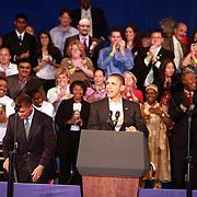 Barack Obama y Deval Patrick , Boston MA