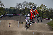 #42 (SCHIPPERS Jay) NED at the 2016 UCI BMX Supercross World Cup in Papendal, The Netherlands.