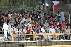 Spits Thibault, BEL, Jericho Dwerse Hagen, Belgium supporters<br /> European Championship Children, Juniors, Young Riders - Fontainebleau 1028<br /> © Hippo Foto - Dirk Caremans<br /> Spits Thibault, BEL, Jericho Dwerse Hagen, Belgium supporters