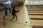 Candlepin bowling. Fitchburg, Massachusetts