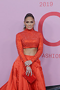 June 3, 2019-Brooklyn, New York-United States: Actress Jennifer Lopez attends the 2019 CFDA Fashion Awards Red Carpet held at the Brooklyn Museum on June 3, 2019 in the Brooklyn section of New York City. The most influential designers, editors and VIP's gather for one of the biggest awards shows in the fashion world.  (photo by terrence jennings/terrencejennings.com)