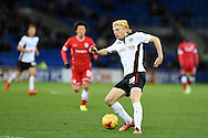 Ben Pringle of Rotherham Utd in action. Skybet football league championship match, Cardiff city v Rotherham Utd at the Cardiff city stadium in Cardiff, South Wales on Saturday 6th December 2014<br /> pic by Andrew Orchard, Andrew Orchard sports photography.