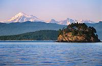 Mt. Baker, San Juan Islands, Cone Islands, Washington State