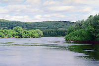 Connecticut River at Great Meadow, Westminister, NH from River Rd., Putney, VT