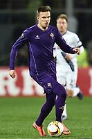 Josip Ilicic Fiorentina <br /> Firenze 18-02-2016 Stadio Artemio Franchi, Football, Europa League round of 32 Sedicesimi di finale Fiorentina - Tottenham .  Foto Andrea Staccioli / Insidefoto