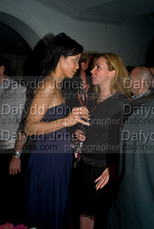 KIM HEIRSTON-EVANS; INGA RUBENSTEIN, Party hosted by Franca Sozzani and Remo Ruffini in honour of Bruce Weber to celebrate L'Uomo Vogue The Miami issuel by Bruce Weber. Casa Tua. James Avenue. Miami Beach. 5 December 2008 *** Local Caption *** -DO NOT ARCHIVE-© Copyright Photograph by Dafydd Jones. 248 Clapham Rd. London SW9 0PZ. Tel 0207 820 0771. www.dafjones.com.