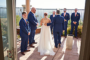 Victoria and Andy host their wedding at a private residence in San Jose, California, on August 8, 2020. (Stan Olszewski/SOSKIphoto)