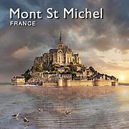 Le Mont Saint Michel Historic Tidal Island Normandy - Landscape Pictures, Images & Photos -